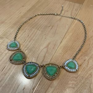 Jade & Gold Necklace